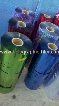 OPP Color aluminum laser film