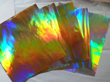 Holographic Transfer Paper